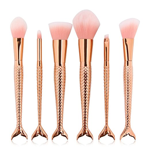 mermaid-makeup-brushes-budget-amazon-pretty-friend-sister-gift-guide-budget-babe